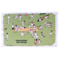 Cricket Watchers' Tea Towel