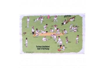 Cricket Watchers' Tea Towel