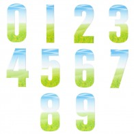 Wheelie Bin Numbers - Grass