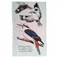 Kookaburra Tea Towel