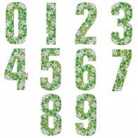 Wheelie Bin Numbers - Leaves