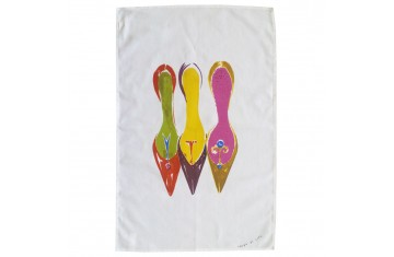 Three Shoes Tea Towel