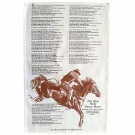 The Man From Snowy River Tea Towel