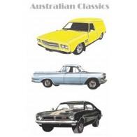 Australian Classic Cars Tea Towel
