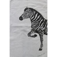 Laugh at Life Tea Towel - Zebra